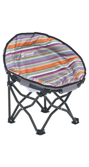 Outwell Trelew Summer Kids - Siège camping Enfant - gris/orange